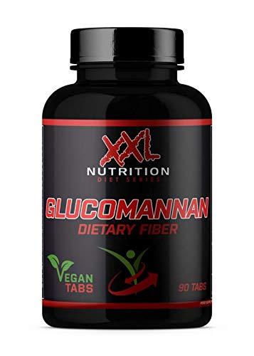 Glucomannan - 1100mg - 90 Tabletten - Chrom 90 Tabletten