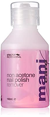 Strictly Professional Non Acetone Nail Polish Remover A Gentle Nail Enamel Solvent 150ml