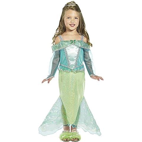 Smiffy's - Disfraz de princesa sirena para niña, talla S (36165S)