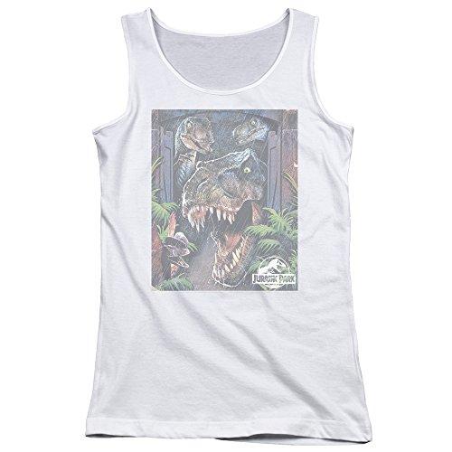 Jurassic Park - Junge Frauen Riesen Tür Tank Top, XX-Large, - Tank-top Riesen