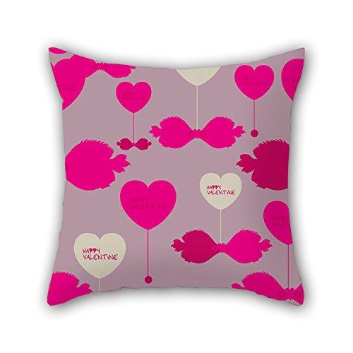 x 45,7cm/45von 45cm Love Valentine Day Kissen beiden Seiten Ornament und Geschenk zu Teens Auto Bar Weihnachten Geburtstag Zeichnen Raum (Diy Deco D'halloween)