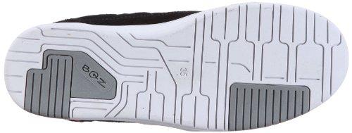 Brakkies REESE 0012396-0423 Jungen Sneaker Schwarz (Black/White)