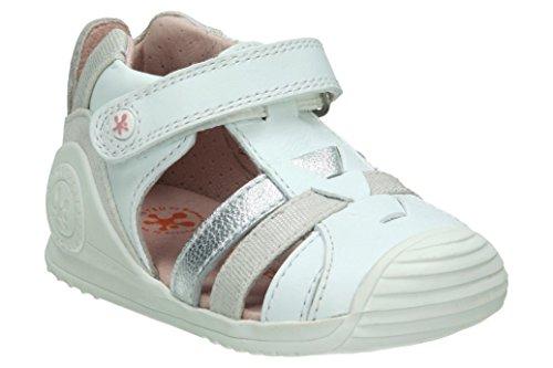 Garvalin Chaussures Premiers Pas Pour Bébé (Fille) Blanc Blanc