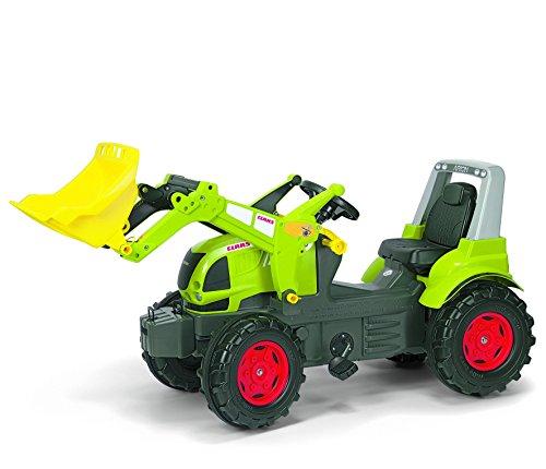 Claas Trettraktor rolly toys 710232 - rollyFarmtrac CLAAS Arion 640 mit rollyTrac Lader, Motorhaube zum Öffnen