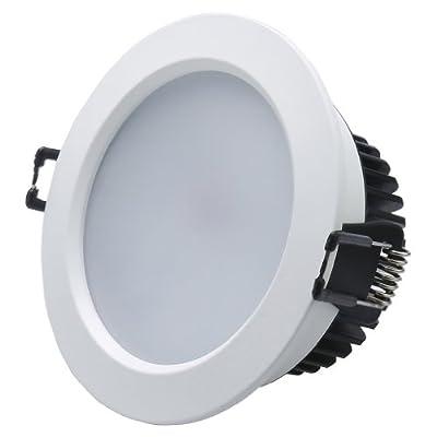 2 x Auralum 9W 810LM 2800K~3000K Warmweiß LED Lampe Einbauleuchte Strahler Spot Licht Leuchte Deckenlampen Energiesparlampe Licht Set
