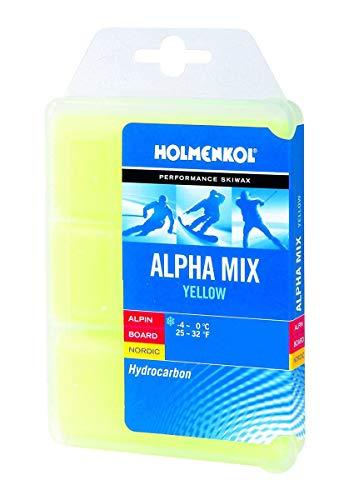 HOLMENKOL Alpha Mix Skiwachs Set