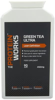 The Protein Works Green Tea Extract, , Vegan, Weight Loss, 90 Tablets