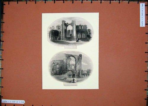 Furness-Abtei-NordEingangs-England-Gebäude-Ruinen