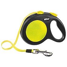 Croci C5055679 Guinzaglio Flexi New Neon Tape 5M, M