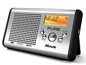 Pure Move, Portable Rechargeable Palm-sized DAB/FM Radio