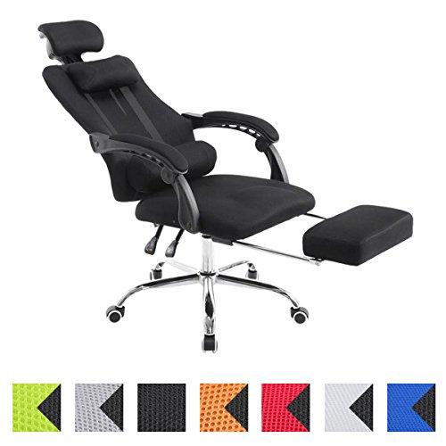CLP-Fauteuil-de-bureau-ergonomique-FELLOW-repose-pieds-EXTENSIBLE-poids-admis-115-kg-appui-tte-rglable-en-hauteur-47-57-cm-tissu-rsille-couleurs-au-choix