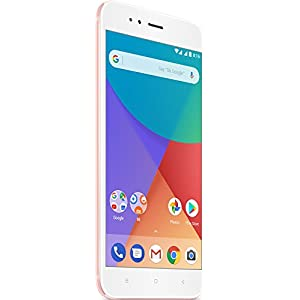 "Xiaomi Mi A1 EU - Smartphone 5.5"" (32 GB internal storage and 4 GB RAM, Dual chamber high zoom 2x, Android) pink colour [Spanish version]"