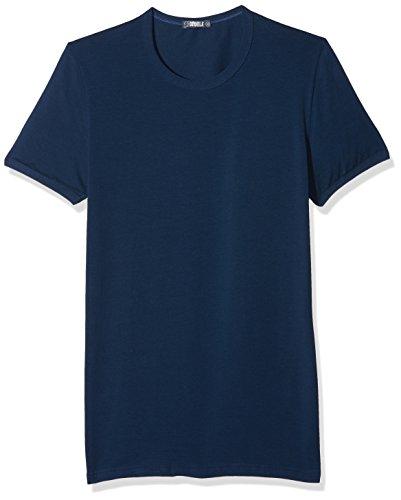 Cotonella Herren T-Shirt, 2er Pack Blu (Blu Navy)