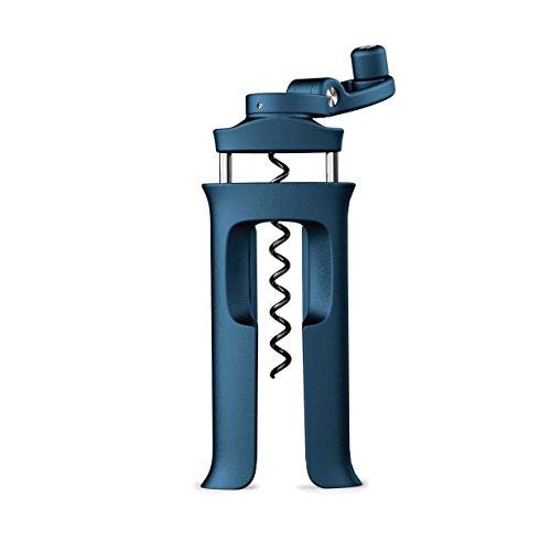 Joseph Joseph 20080 Barwise Easy-Action - Schraub-Korkenzieher, Kunststoff, blau, 3 x 6.4 x 13.7 cm