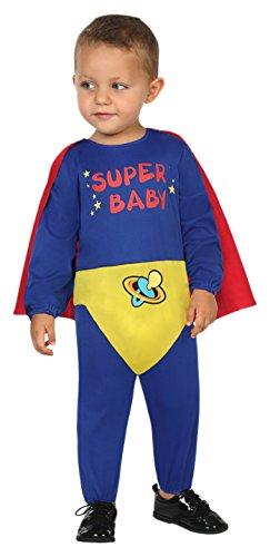 Atosa 30558 - Super Held, Babykostüm, 6-12 Monate (Hund Super Helden Kostüme)