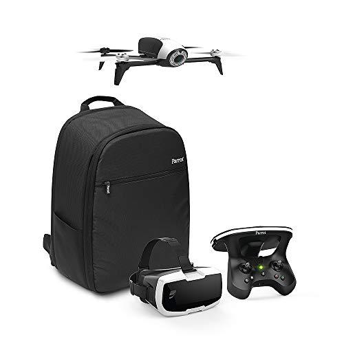 Parrot-Pack-Drone-Quadricoptre-Bebop-2-Lunette-FPV-Skycontroller-2-Blanc-Sac–Dos-Follow-me
