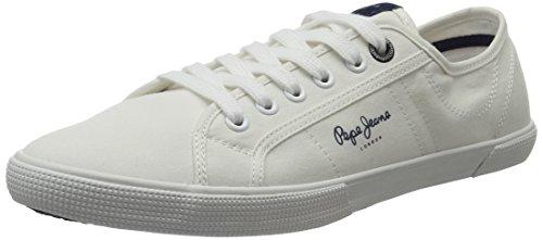 Pepe Jeans Herren Aberman 2.1 Low-Top Weiß (White)