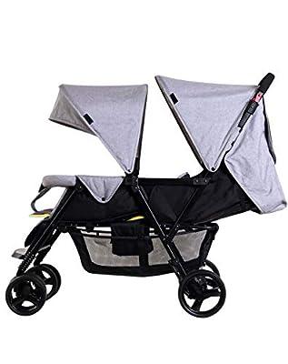 Bykle Cochecito Doble para cochecitos de bebé y niño pequeño en tándem Connect