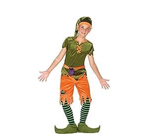 Atosa-56915 Disfraz Duende, Color Verde, 10 a 12 años (56915