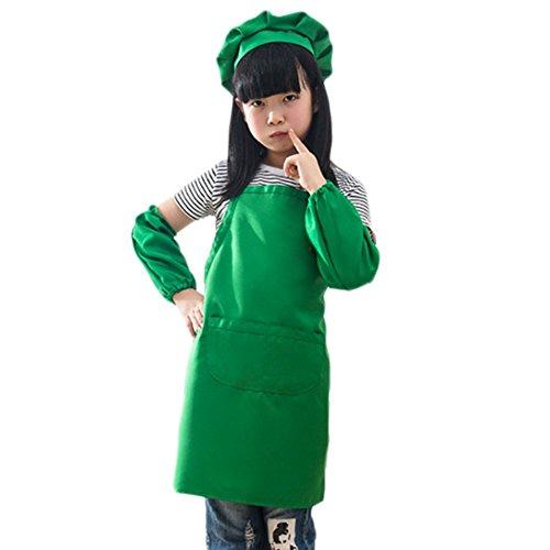 Wicemoon Juego delantales barbacoa niños aula cocina