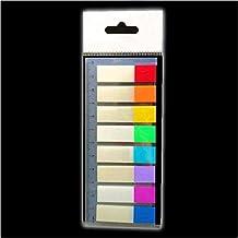 Haftmarker Film,Textstreifen,400 extra schmale Streifen im Format 6x50mm,5 Farbe