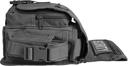 Hüfttasche, Hip Bag, Security, Bein- und Gürtelbefestigung Schwarz