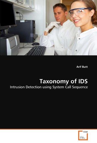 Taxonomy of IDS por Arif Butt
