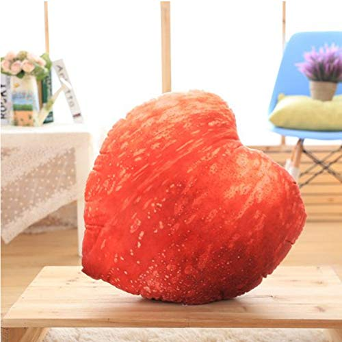 ycmjh Simulation Plüsch Obst Kissen Pfirsich Kissen Sofakissen Dekoration 60cm (Baby Pfirsich Plüsch)