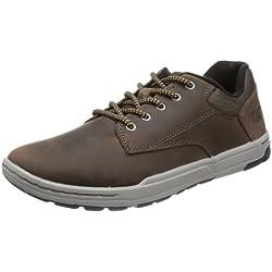 Cat Footwear COLFAX - Zapatillas de cuero para hombre, color marrón, talla 42