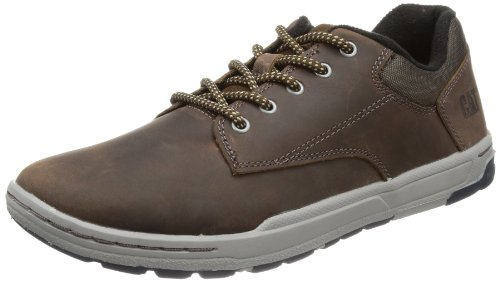 Caterpillar Colfax Scarpe da Ginnastica Basse Uomo, Marrone (Mens Dark Brown), 42 EU