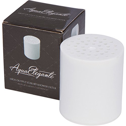 Preisvergleich Produktbild Aqua Elegante High Output Luxury Shower Filter - Best Chlorine Removing Filtration System & Cartridge - Replacement Cartridge by Aqua Elegante