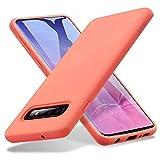 ESR Cover Morbida Serie Yippee Touch per Samsung Galaxy S10, Custodia in Silicone Liquido con [Presa Eccellente] [Protezione Anticaduta]...