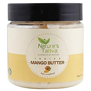 Nature's Tattva Raw Mango Unprocessed and Unrefined Butter, 100g
