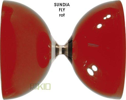 Preisvergleich Produktbild Freiläufer Diabolo - Sundia Fly Diabolo - rot