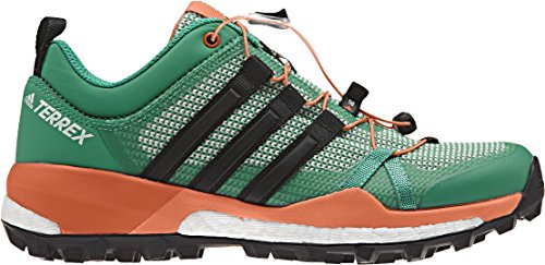Adidas Terrex Skychaser W, Scarpe da Escursionismo Donna, Verde (Verbas/Negbas/Narsen), 38 EU