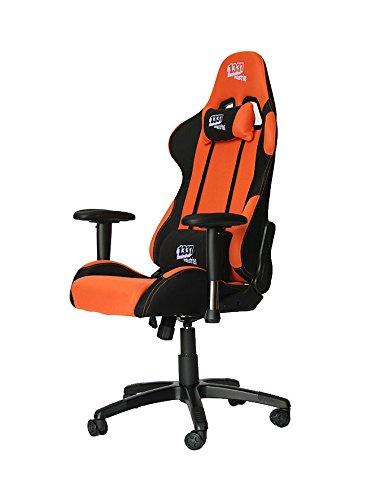 1337 Industries  – Silla gaming gc757 negro y naranja