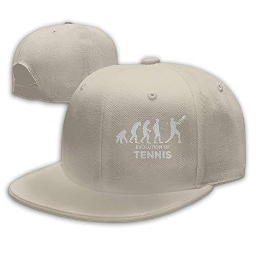 DAIAII Herren Baseball Caps,Hüte, Mützen, Classic Baseball Cap, Evolution Tennis Unisex Adjustable Plain Baseball Cap Dad Hat (Fiestas De Adolescentes Halloween)