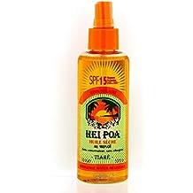 Hei Poa  - Aceite seco de monoï spf 15 perfume tiaré