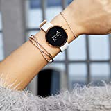 SIONA Damen Smartwatch Android und Smart Watch Damen iOS – Sportuhr Damen Smartwatch Frauen Uhr Fitness Armband Smart Watch iPhone kompatibel Smart Uhr Damen - 3