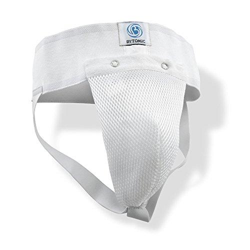 Schutz–Regular Männlich Tiefschutz–Weiß, Weiß