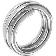 BREIL Anillo de acero STYLE Talla 18 Mod. 2131810086 Mujer