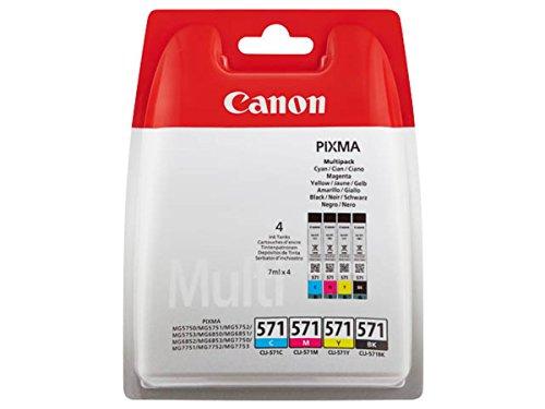 Canon 0386C005 Cartouches d'encre d'origine Noir/Cyan/Magenta/Jaune