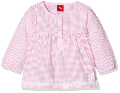 Check Baumwoll-bluse (s.Oliver Baby-Mädchen Bluse 59.707.11.3042, Rosa (Purple/Pink Check 44N0), 92)