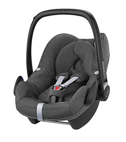 Maxi-Cosi Pebble, Babyschale Gruppe 0+ (0-13 kg), sparkling grey, ohne Isofix-Station