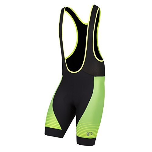 Pearl Izumi Pro Pursuit GRPHC Bib Short, Herren, Screaming Yellow Diffuse (Short Bib Laser Cycling)