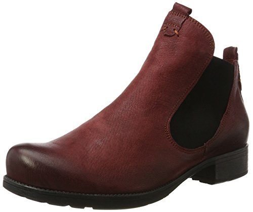 Think! Damen Denk_181011 Chelsea Boots, Rot (Vino 36), 39 EU
