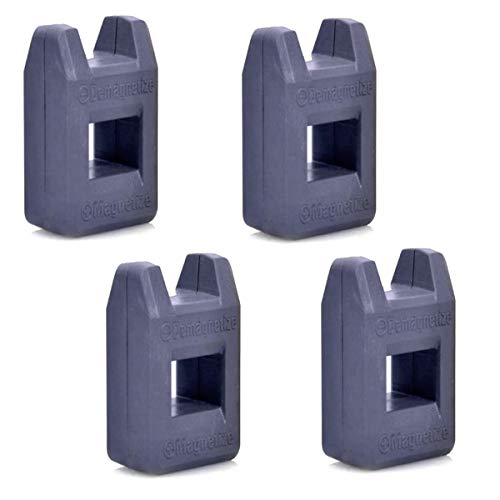 4er Set Universal Magnetisierer Entmagnetisierer | Kompaktes Magnetisiergerät | Entmagnetisiergerät | Magnet Werkzeug Zum Magnetisieren & Entmagnetisieren