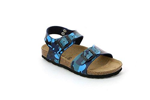 Grunland SB0115-40 Sandale Garçon FLUO-BLU