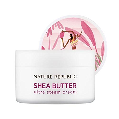 Nature Republic Shea Butter Steam Cream, Ultra, 100 Gram -