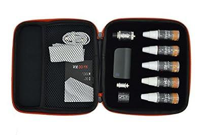 Novel Dampfen E-Zigarette Ebox 7~50W Box Mod Akkuträger E Zigaretten Set Coil Atomizer / Verdampfer Starterset Nikotinfreie Zigaretten von novel